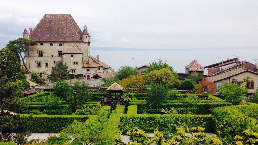 Le Jardin des cinq sens a le charme des labyrinthes du Moyen âge.