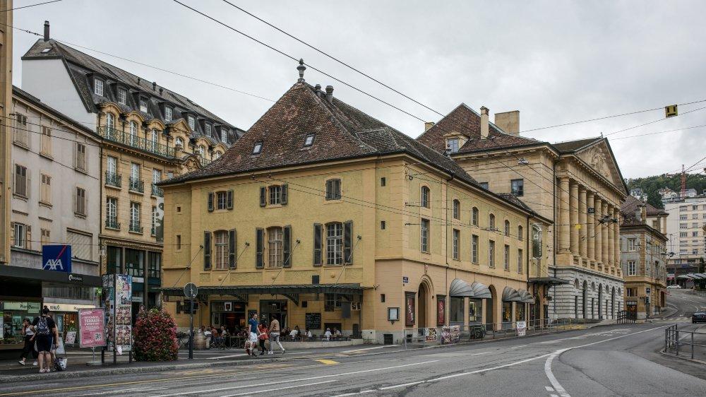 La Maison du concert, à Neuchâtel, fête ses 250 ans.