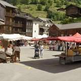 Marché hebdomadaire - Les Haudères