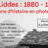 Exposition d'anciennes photos à Liddes