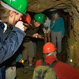 Visite guidée de la mine de cuivre de la Lée