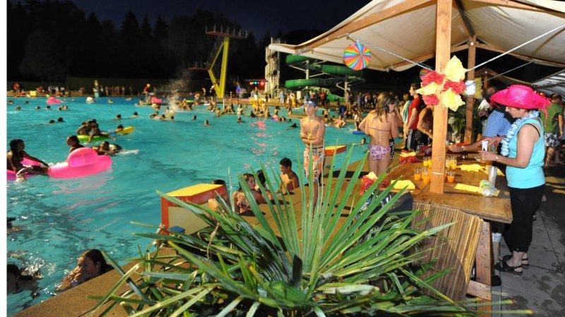 L'ambiance sera tropicale à la piscine du Locle le 24 juillet.