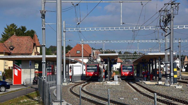 Des travaux ferroviaires sont prévus au Noirmont.