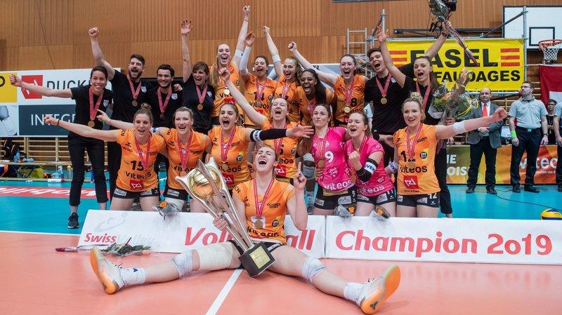 Plusieurs championnes de Suisse avec le NUC disputeront le championnat d'Europe.