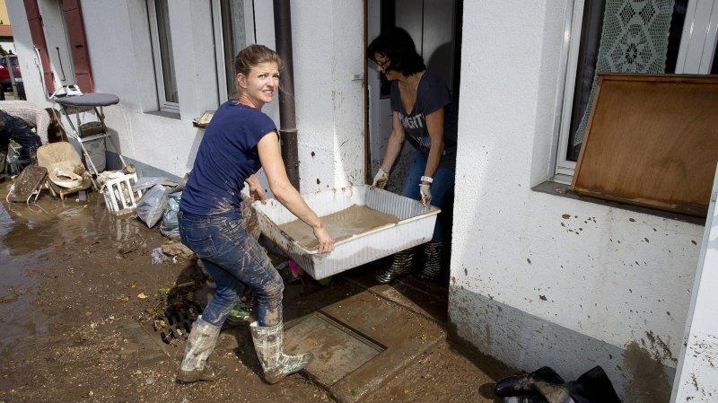 Val-de-Ruz: 600'000francs pour les sinistrés des intempéries