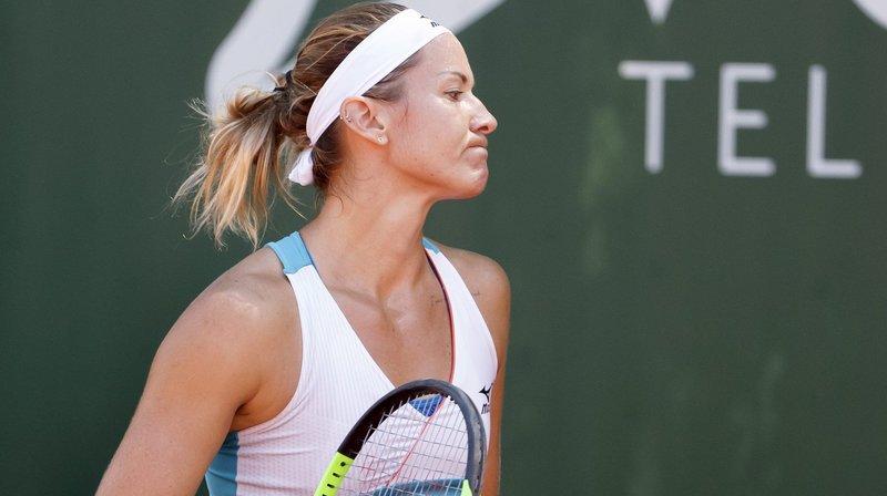 Ladies Open de Lausanne: Conny Perrin est «fière» de son match malgré sa défaite