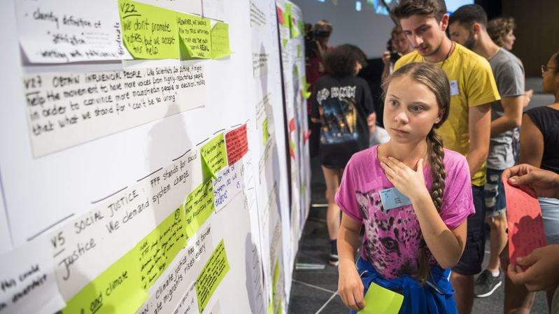 Greta Thunberg n'a pas affolé les militants neuchâtelois pour le climat