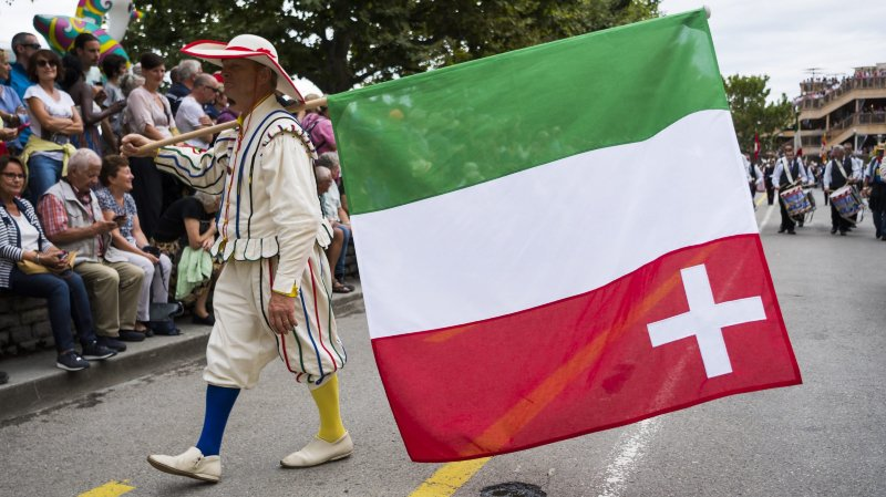 Neuchâtel était à l'honneur ce samedi 10 août lors de la Fête des vignerons.