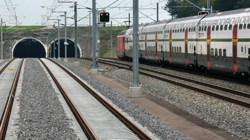 Zurich: 250 passagers évacués d'un train en panne dans un tunnel
