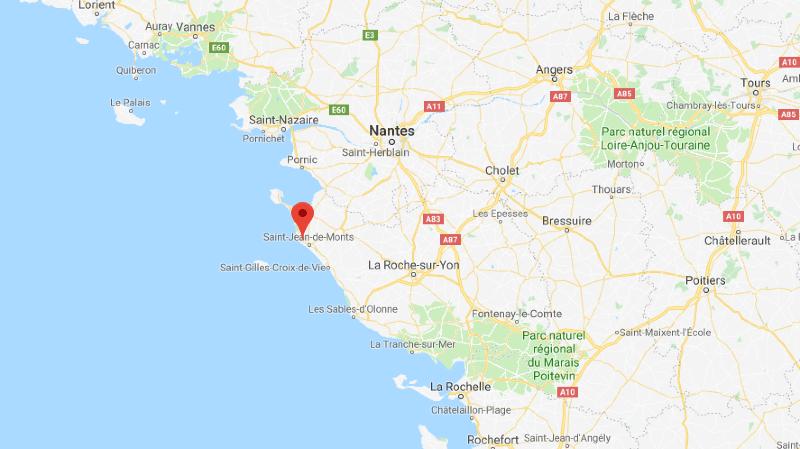 L'accident de mardi s'est déroulé en Vendée.