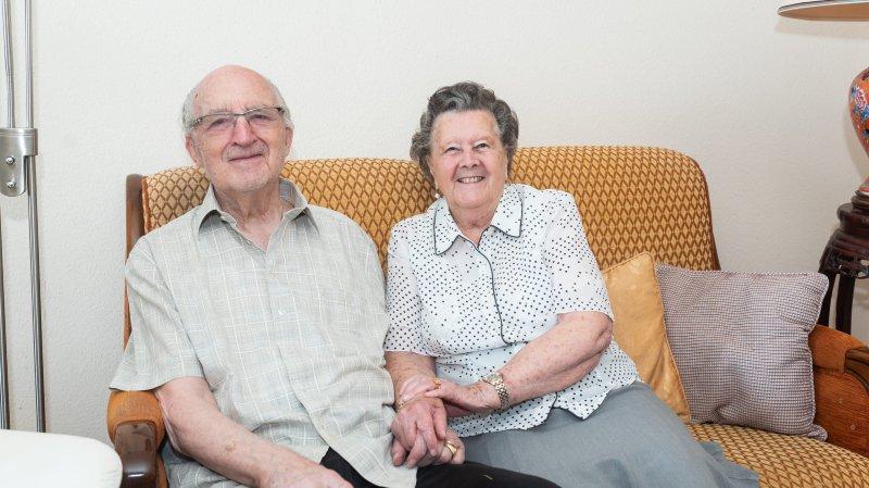 Un couple de Neuchâtel entre dans sa septantième année de mariage