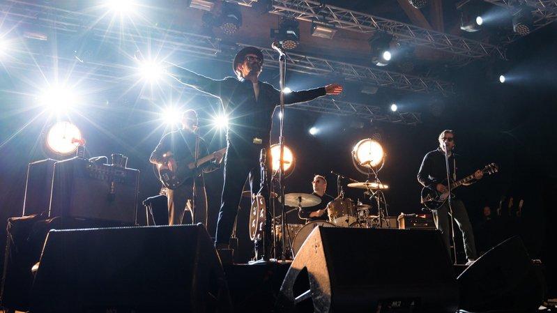 Les Eels sont passés de rock sauvage à chansons douces jeudi soir au Rock Altitude.