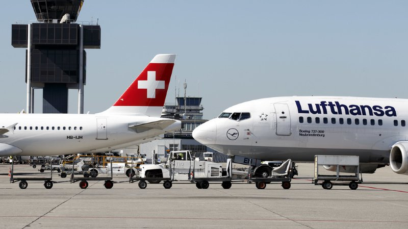 Transport aérien: billets sur le site de Swiss plus chers que sur celui de la société-mère Lufthansa