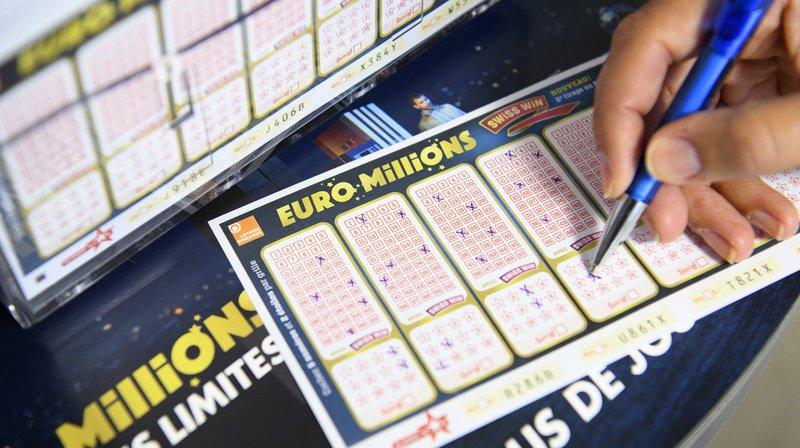 Euro Millions: un joueur remporte 1,27million de francs