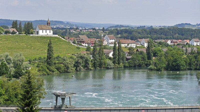 Le septuagénaire avait plongé le 30 juin dans le Rhin à Rheinau (Zurich) pour sauver son chien. (Illustration)