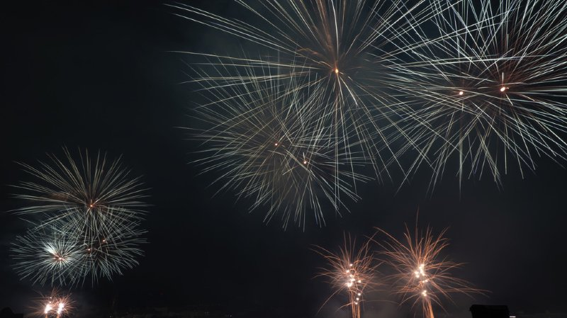 Fête nationale: les feux du 1er août immortalisés par les internautes romands
