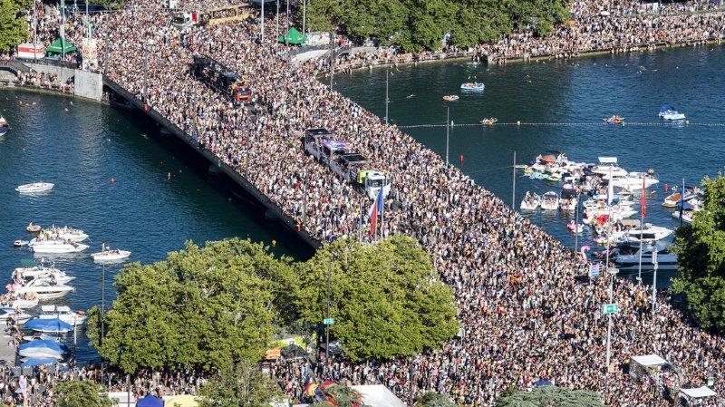 Zurich se prépare à une 28e Street Parade colorée et rassembleuse