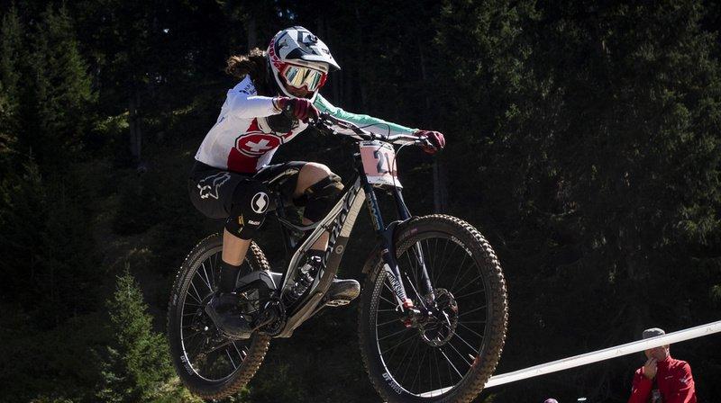 VTT: la Neuchâteloise Camille Balanche troisième de la descente de Val di Sole