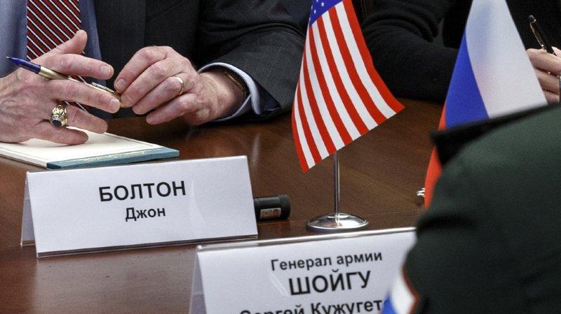 Désarmement: Moscou et Washington mettent fin au traité nucléaire INF