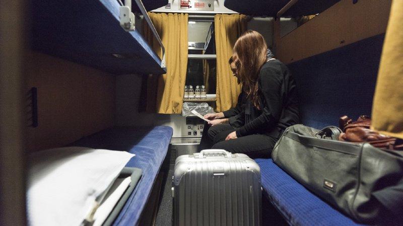 Transports: un projet pilote veut accrocher des wagons-lits aux trains de marchandises