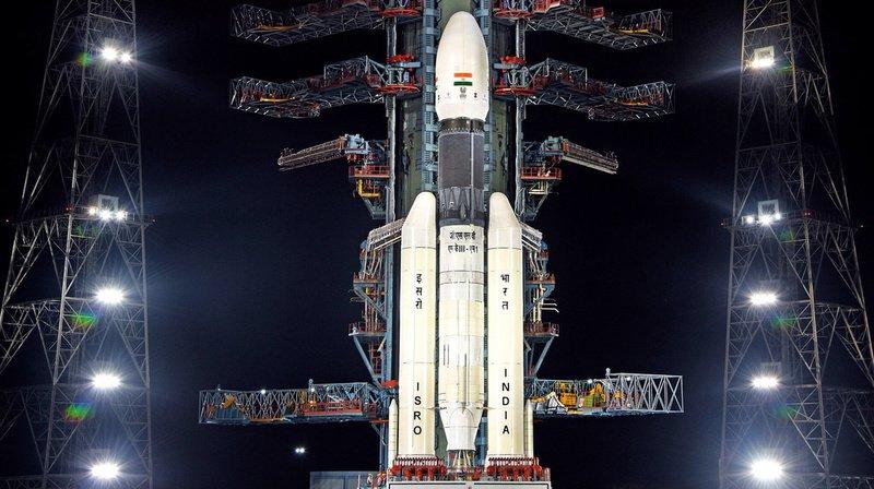 Inde: le lancement de la mission lunaire reprogrammé pour lundi
