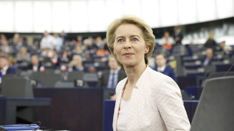 Ursula von der Leyen est la nouvelle présidente de la Commission européenne (archives).