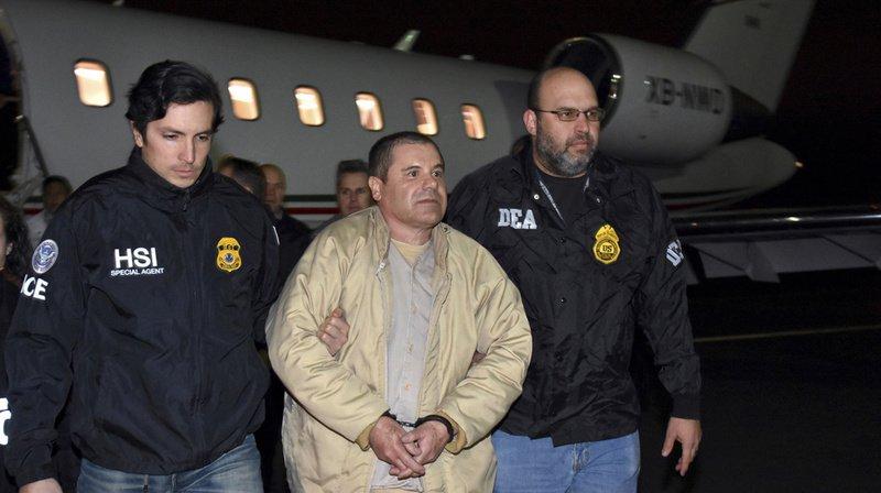 """Le baron de la drogue mexicain """"El Chapo"""" a été transféré dans une prison haute sécurité du Colorado. (Archives)"""