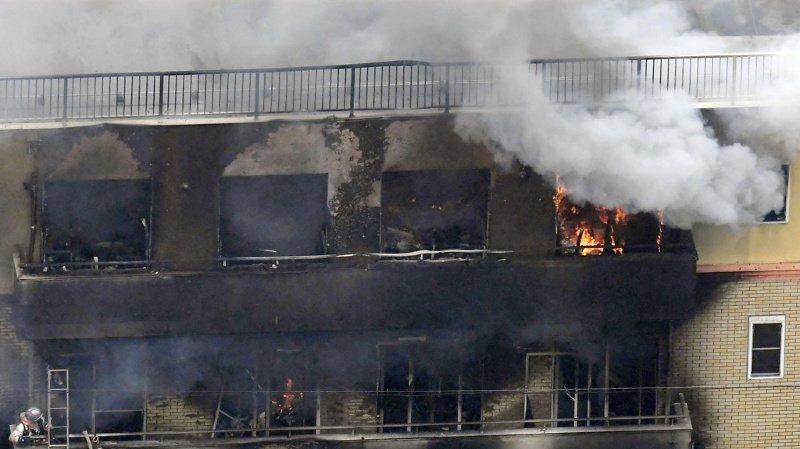 Japon: le pays sous le choc après l'incendie criminel meurtrier du studio Kyoto Animation