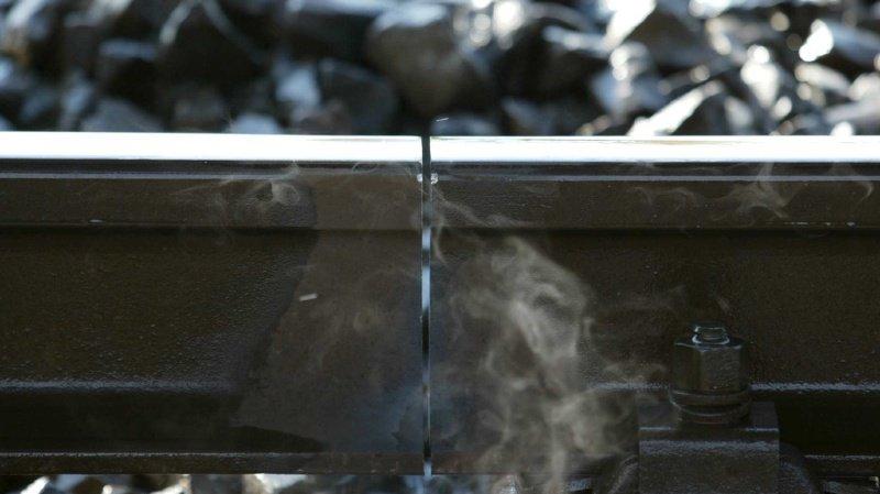 Canicule: des rails à nouveau déformés par la chaleur, notamment à Genève