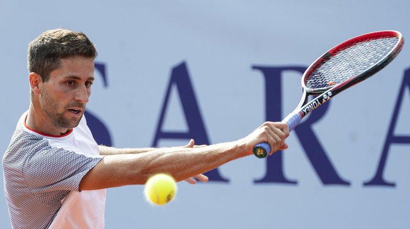 Tennis – Gstaad: le Schaffhousois Sandro Ehrat sorti au premier tour