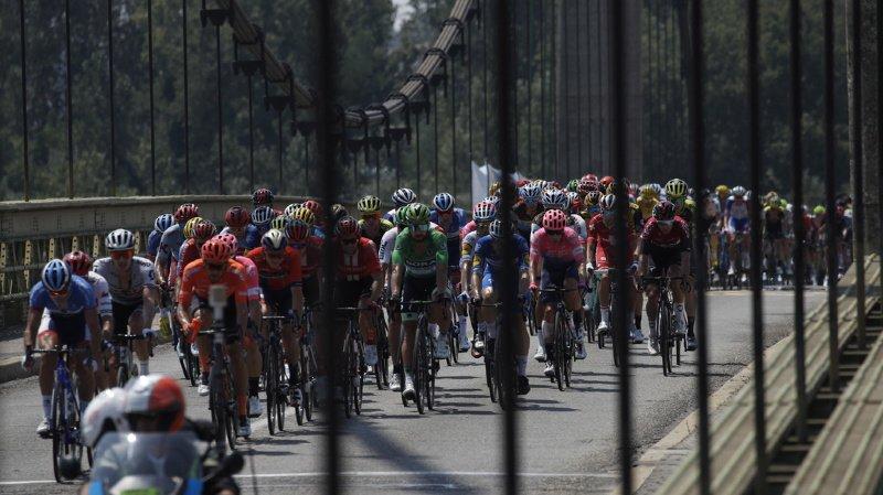 Cyclisme – Tour de France: Luke Rowe et Tony Martin exclus après une altercation