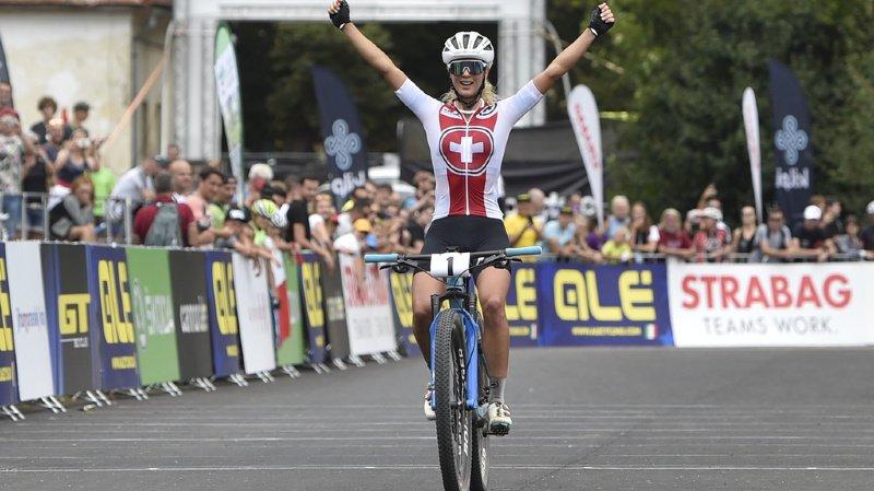C'est déjà le 4e titre européen en 5 participations pour Jolanda Neff.