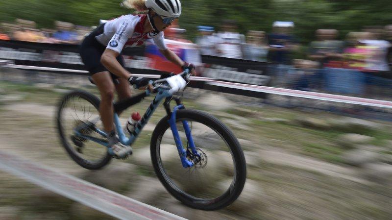 VTT: Jolanda Neff remporte l'épreuve Coupe du monde short track à Val di Sole devant Sina Fei