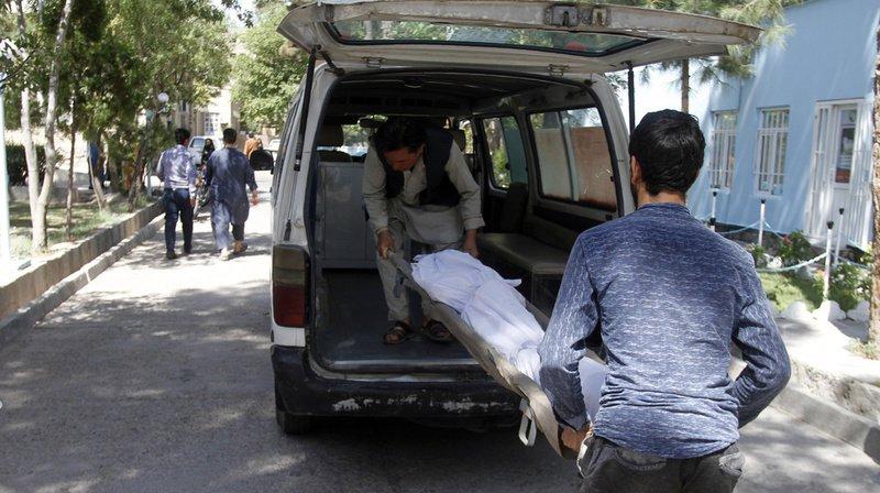 Une bombe a fait au moins 34 morts en Afghanistan, ce mercredi.
