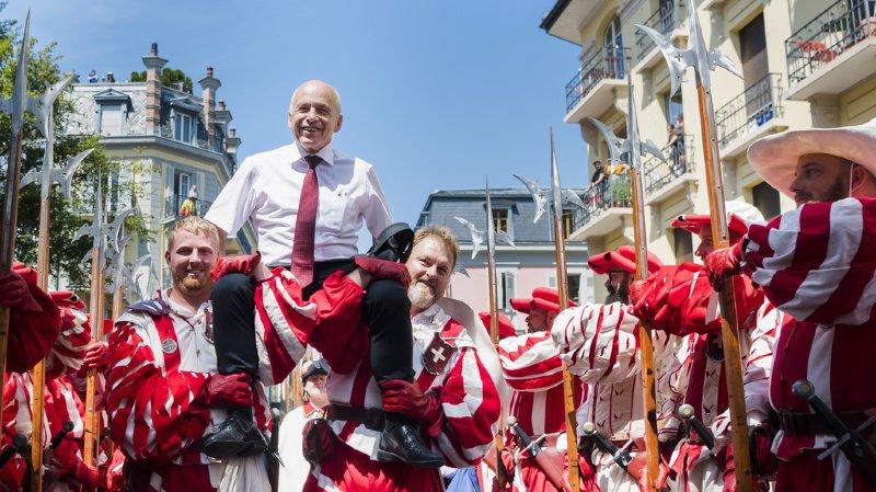 Fête nationale: Maurer vante l'indépendance de la Suisse, Berset loue le compromis