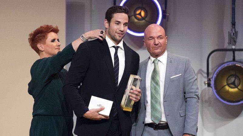 Le capitaine du CP Berne Simon Moser a été désigné comme le MVP des play-off.