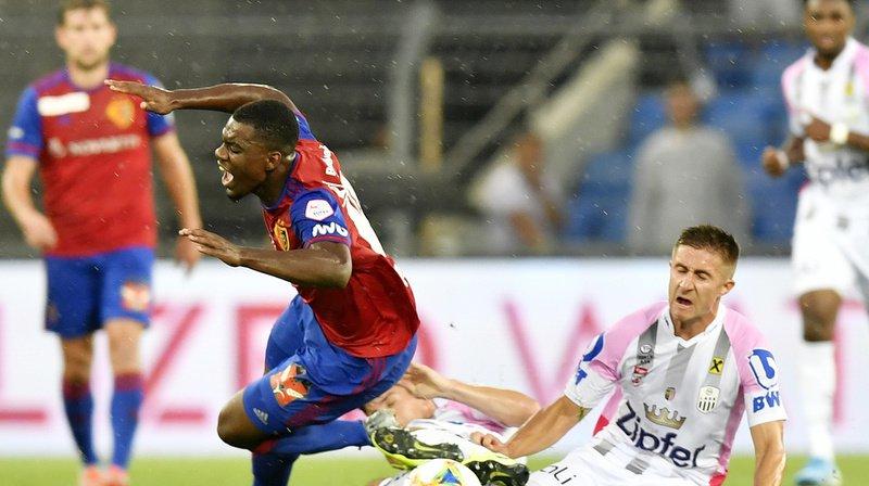 Football – Ligue des champions: au Parc St-Jacques, Bâle s'incline 2-1 contre le LASK Linz en préliminaire
