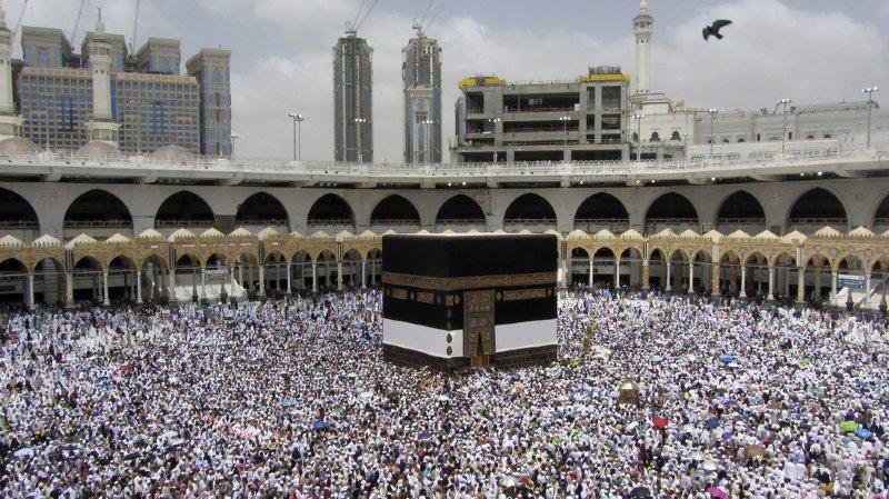 En tout, quelque 2,5 millions de fidèles, étrangers ou vivant en Arabie saoudite, doivent accomplir cette année le hajj, selon la presse locale. (photo d'archive)