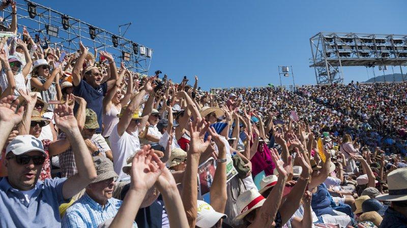 Fête des vignerons: 400'000 téléspectateurs de toute la Suisse
