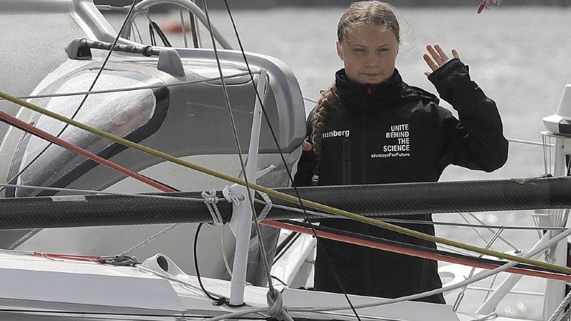Avant cette aventure, Greta Thunberg n'avait jamais navigué.