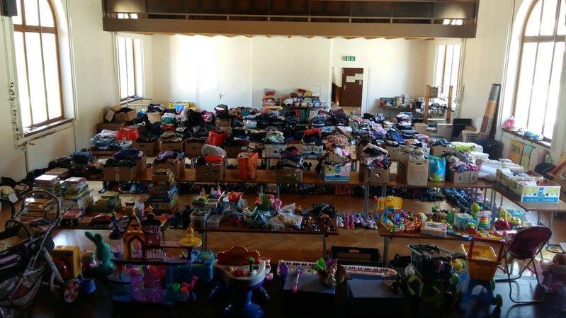 Intempéries au Val-de-Ruz: la bourse d'échange pour les sinistrés a déménagé