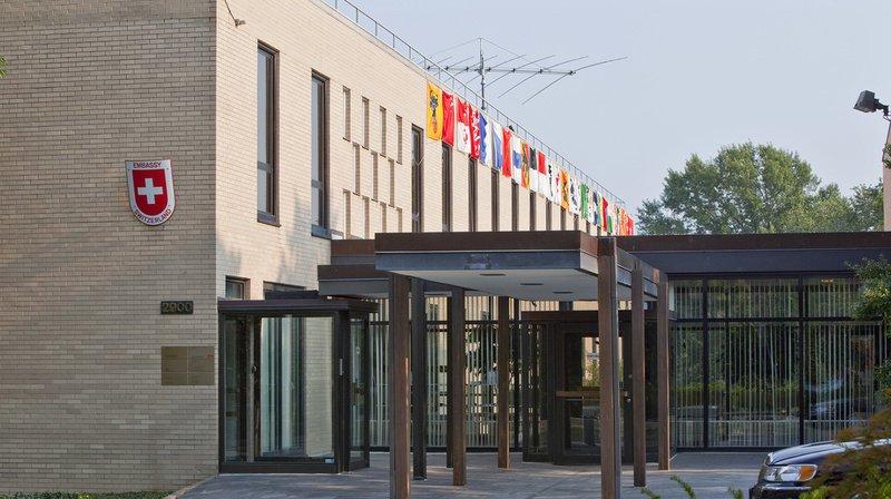 L'ambassade de Suisse à Washington a refusé un nouveau financement du fabricant d'arme pour 2019. (Illustration)