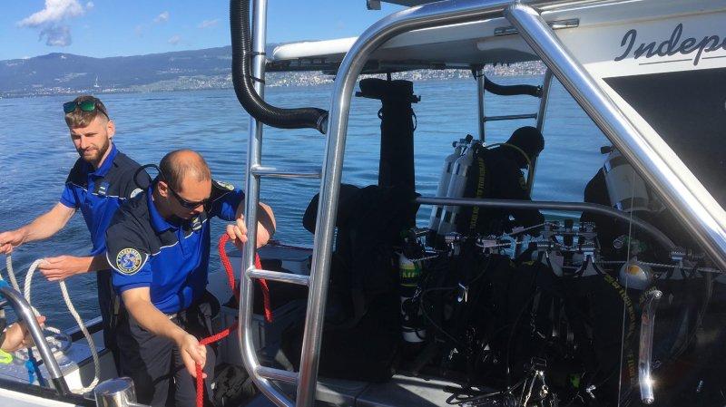 En immersion avec les gendarmes plongeurs du lac de Neuchâtel