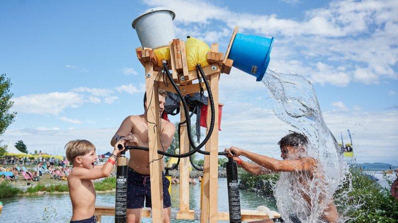 Douche froide dimanche en fin de journée pour les organisateurs du Watt Air Jump.