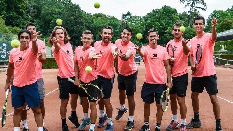 Les Cadolles accueillent l'élite du tennis suisse