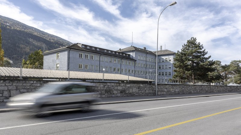 Les 90 militaires malades ont été confinés à la caserne de Sion, en Valais.