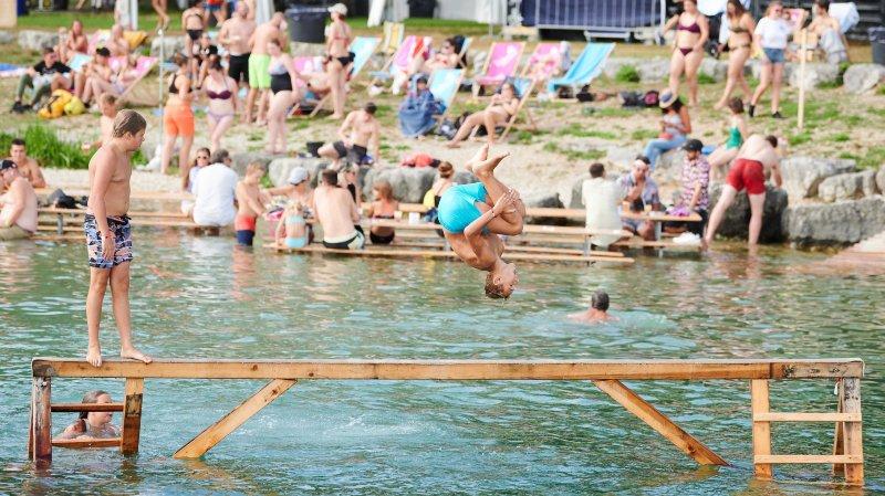 Le Watt Air Jump Festival fait rêver les enfants