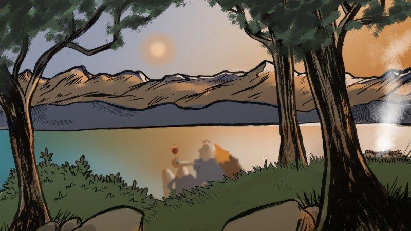 «S'aimer sous le regard de la Lune», la nouvelle de Dunia Miralles