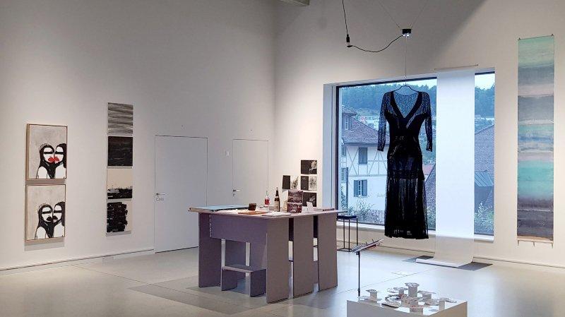 Les artistes neuchâtelois exposent au Stadtmuseum d'Aarau.