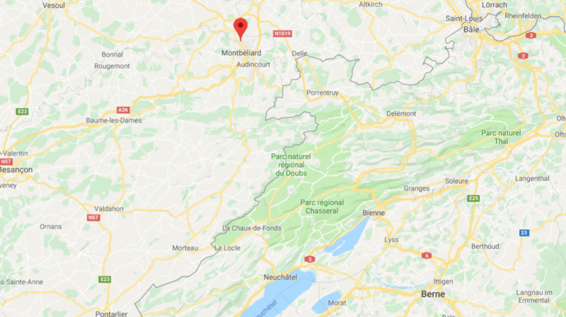 Le drame s'est produit à quelques kilomètres de Montbéliard.
